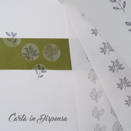 Etichetta INKJET adesiva D.2cm TRASPARENTE opaca A4 R300