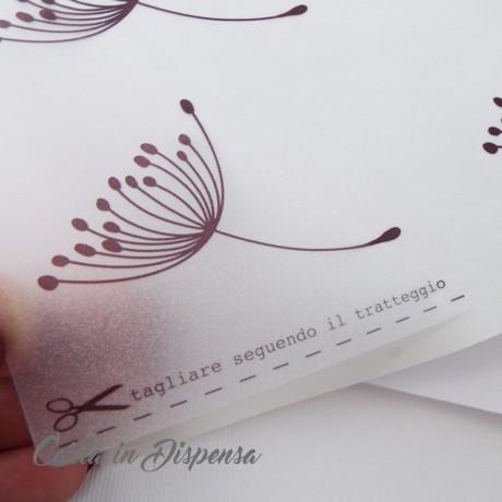 Etichetta INKJET A4 (199,6x289,1) adesiva TRASPARENTE opaca  angoli arrotondati A475