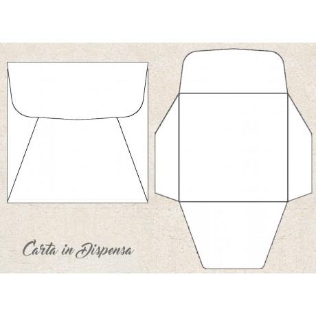 Busta PROGETTO, solo taglio 14,3x14,3cm