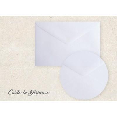 Busta PERGAMENA bianco 12x18