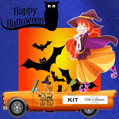 KIT Happy Halloween A4