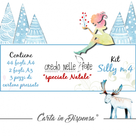 KIT A3-A4 Silly n.4 Speciale Natale