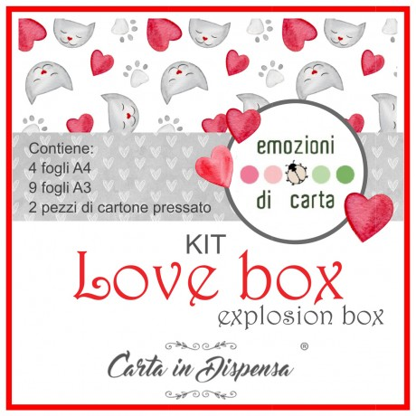 KIT A3-A4 Emozioni di Carta - Love Box