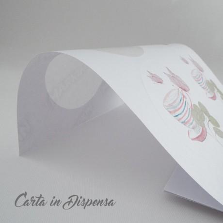 D. 8,5cm Etichetta rotonda adesiva A4 bianco R315