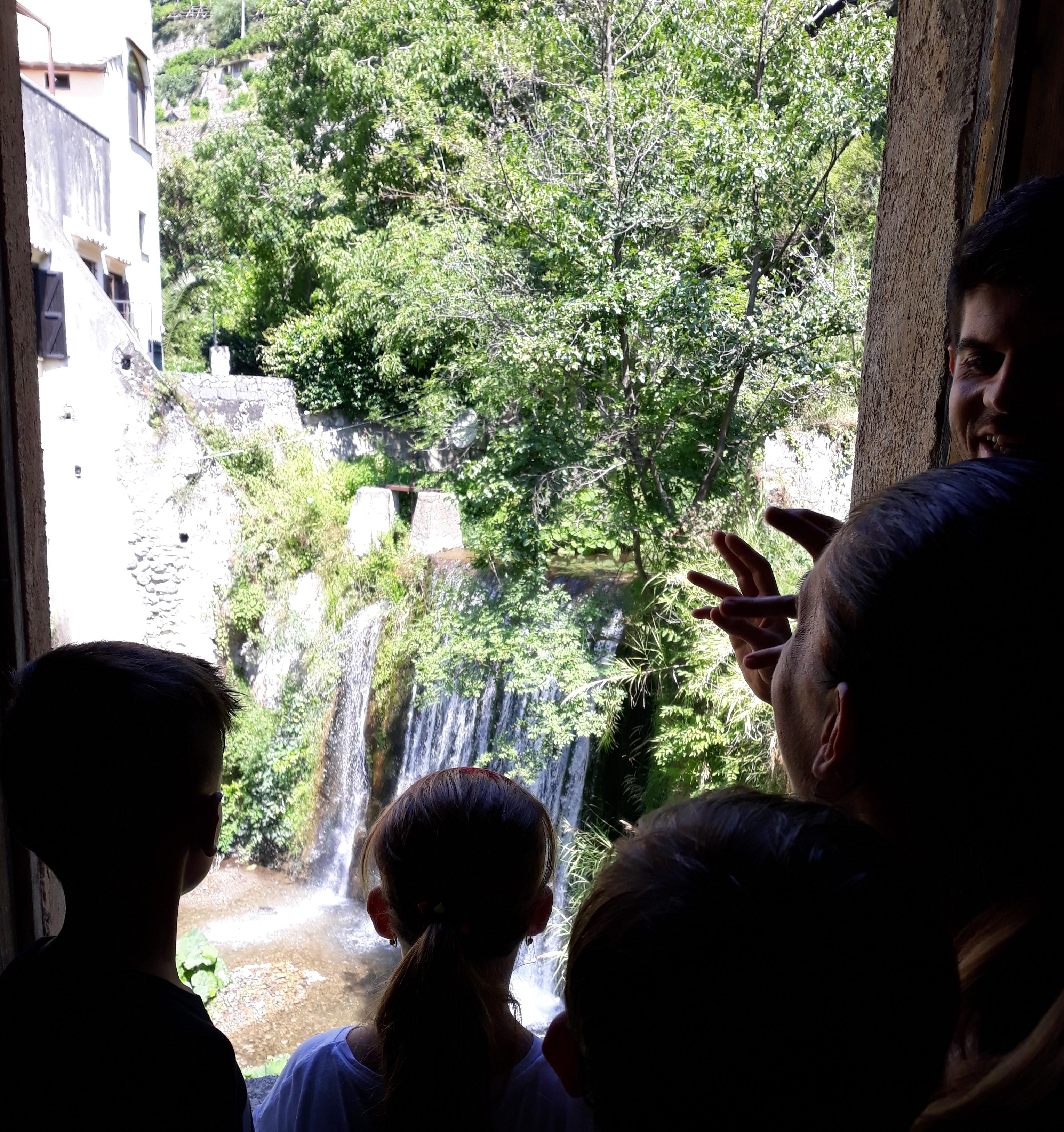 cascata valle dei mulini