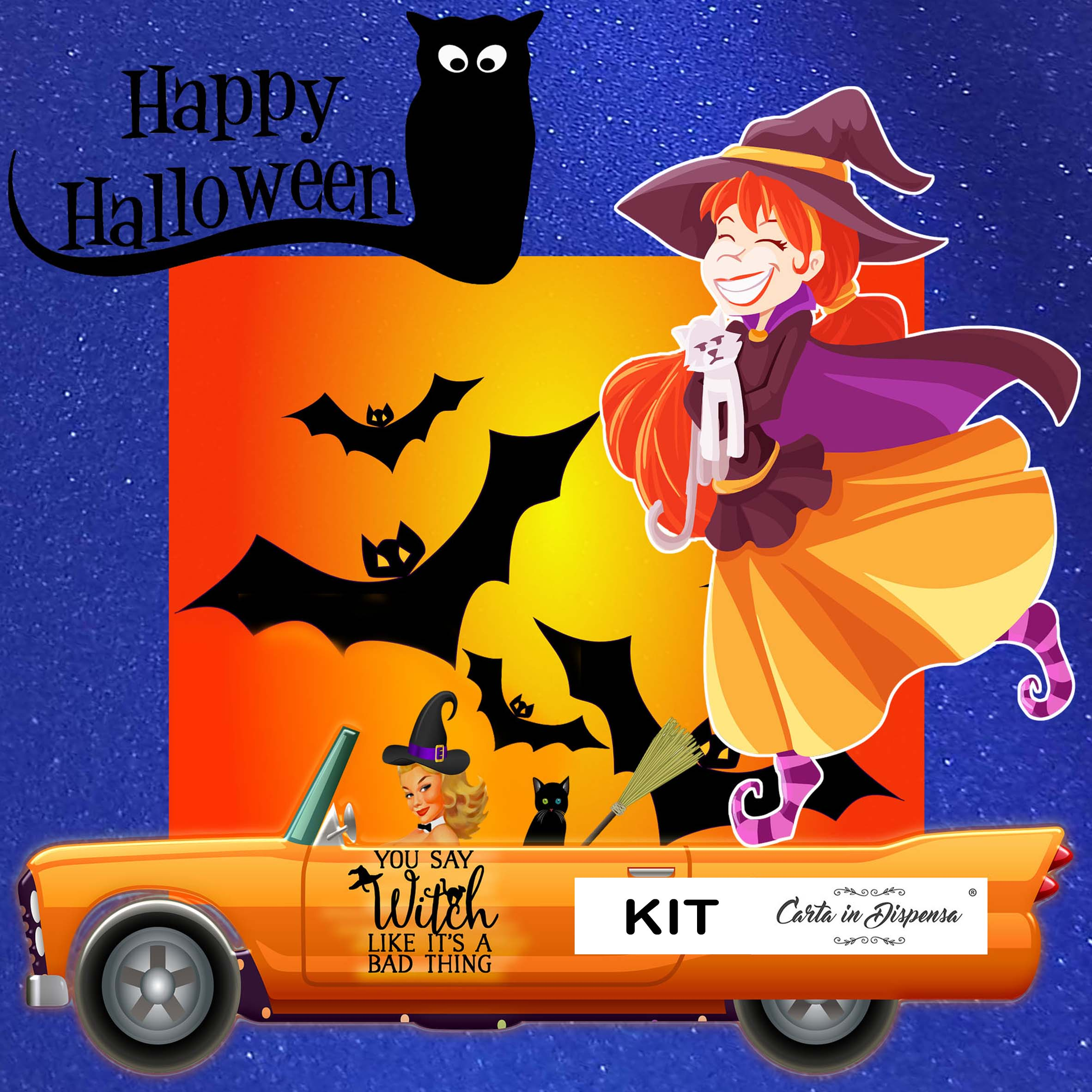 kit happy halloween